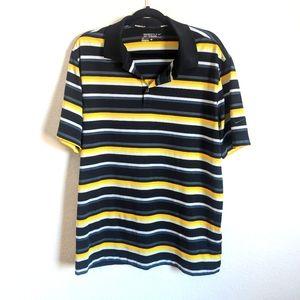 Nike Dri-Fit Golfing quarter button up shirt